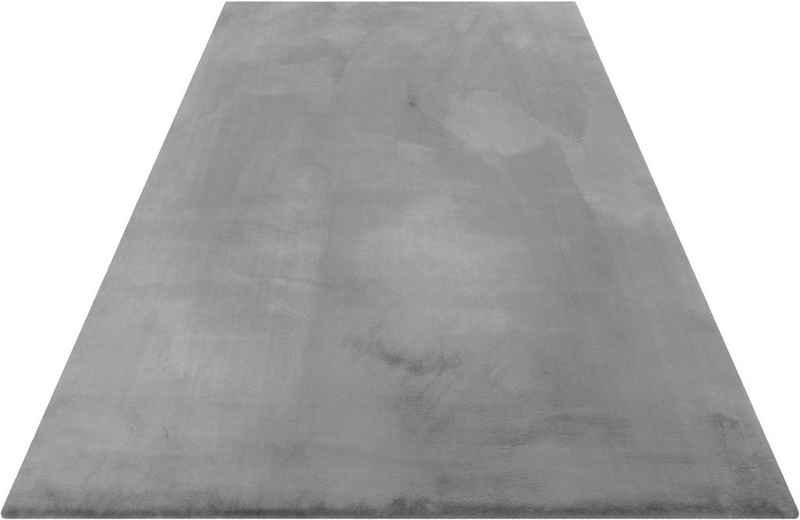 Hochflor-Teppich »Alice«, Esprit, rechteckig, Höhe 25 mm, Kunstfell, Kaninchenfell-Haptik, Wohnzimmer
