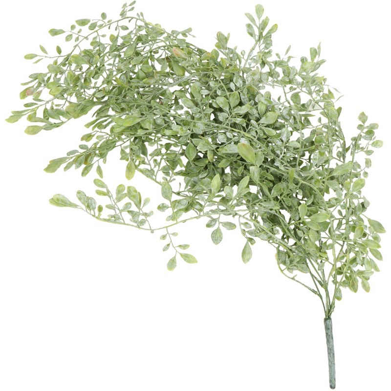 Kunstblume »Teebaumblatt Kunstpflanze künstlich 85 cm grün bepudert« Teebaum, matches21 HOME & HOBBY, Höhe 85 cm, Indoor