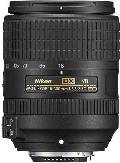 Nikon »AF-S 18-300mm 1:3,5-6,3 DX G ED VR« Objektiv