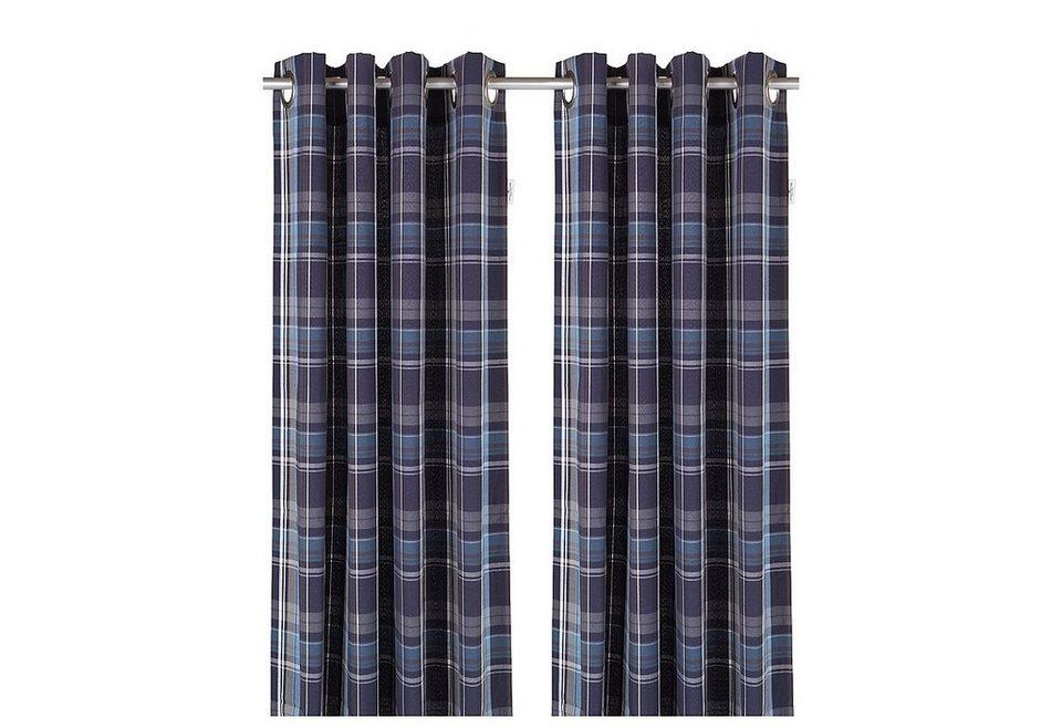 vorhang tom tailor new check mit sen 1 st ck. Black Bedroom Furniture Sets. Home Design Ideas