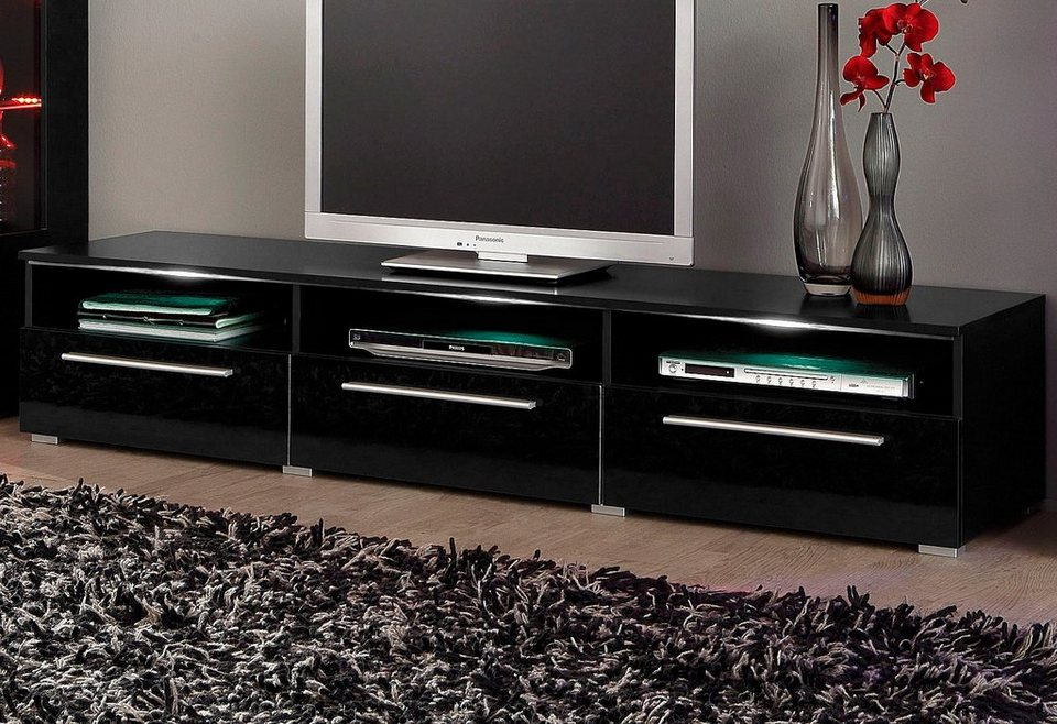 tv lowboard breite 180 cm online kaufen otto. Black Bedroom Furniture Sets. Home Design Ideas