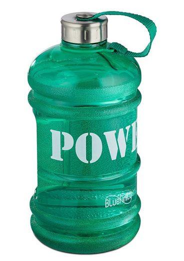 relaxdays Trinkflasche, 2,2L Sportflasche Power Gym Fitness Sport Wasser Flasche