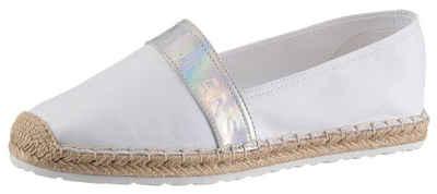 Tommy Jeans »IRIDESCENT BRANDING ESPADRILLE« Espadrille mit Logoschriftzug