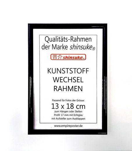 empireposter Bilderrahmen »Foto-Rahmen 13x18 cm Kunststoff«, Fotorahmen, Wechselrahmen 13x18 cm