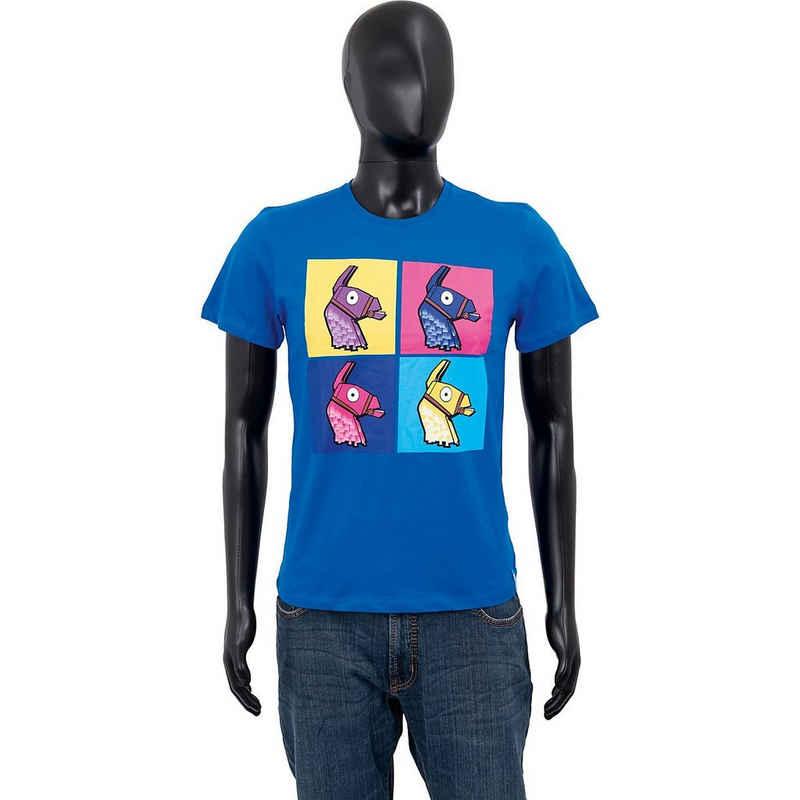Fortnite T-Shirt »T-Shirt 4 Lamas blue 176cm«