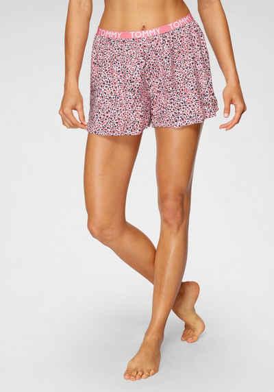 Tommy Hilfiger Shorts mit schmalem elastischen Bund