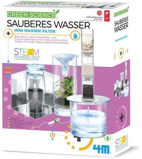 4M Experimentierkasten »Green Science - Sauberes Wasser«