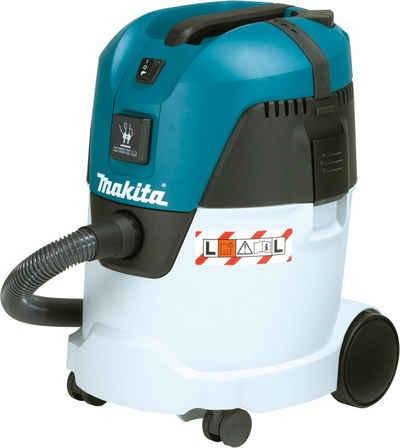 Makita Nass-Trocken-Sauger VC2512L, 1000 Watt, für Reinigungsarbeiten oder als Fremdabsaugung bei Maschinen