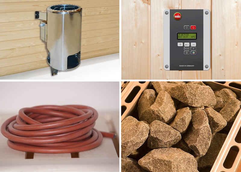 weka Saunaofen, 3,6 kW, externe Steuerung