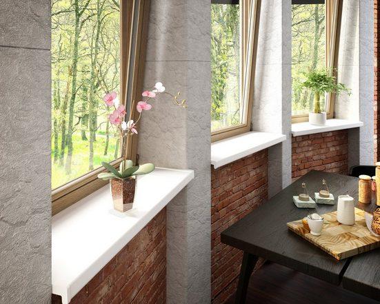 Baukulit VOX Fensterbank, LxT: 200x25 cm, weiß
