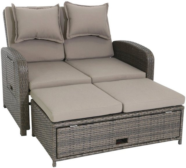 Greemotion Loungeset Bahia Rondo braun