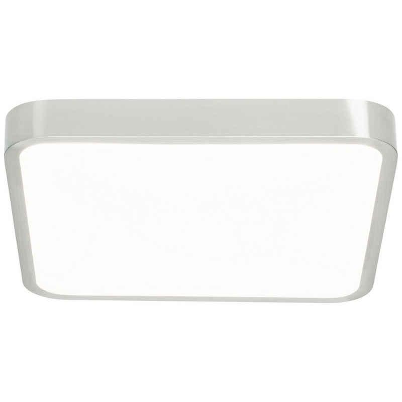 AEG Deckenleuchte »Mikel«, LED 38x38cm eisen/weiß