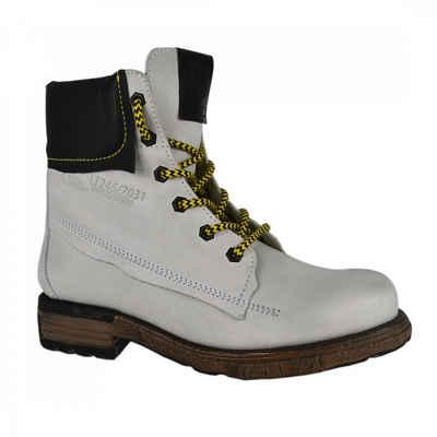 Yellow Cab »UTAH 6-c« Stiefel Weiß