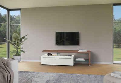 GWINNER Lowboard »Bellano«, mit TV-Brücke rechts, Breite 195 cm