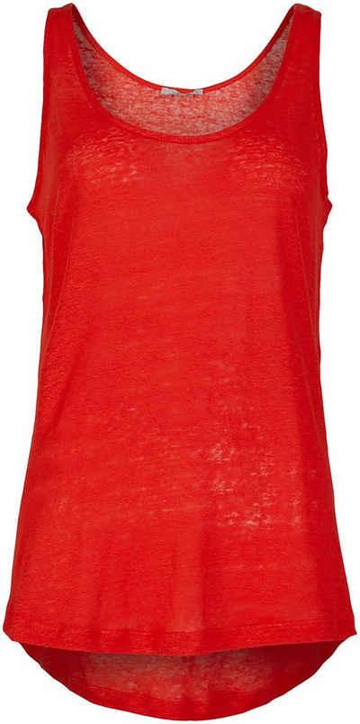 LTB Shirttop »PAFODI« mit verlängertem Saum hinten