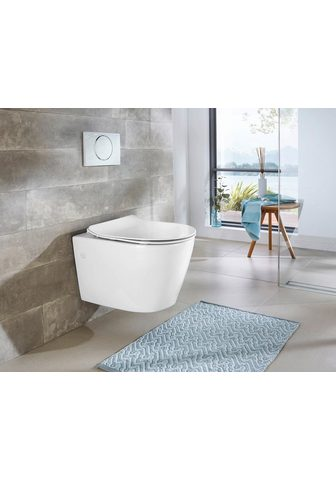 welltime Tiefspül-WC »Vigo« Toilette spülrandlo...