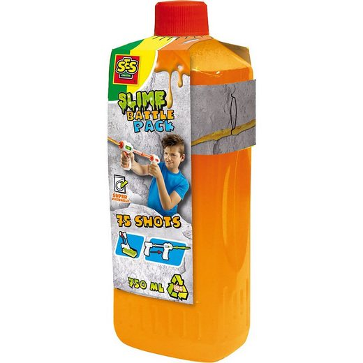 SES Creative Blaster »Schleim Blaster Nachfüllpack 750 ml, orange/neon«