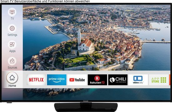 Hanseatic 55H500UDS LED-Fernseher (139 cm/55 Zoll, 4K Ultra HD, Smart-TV, HDR10)