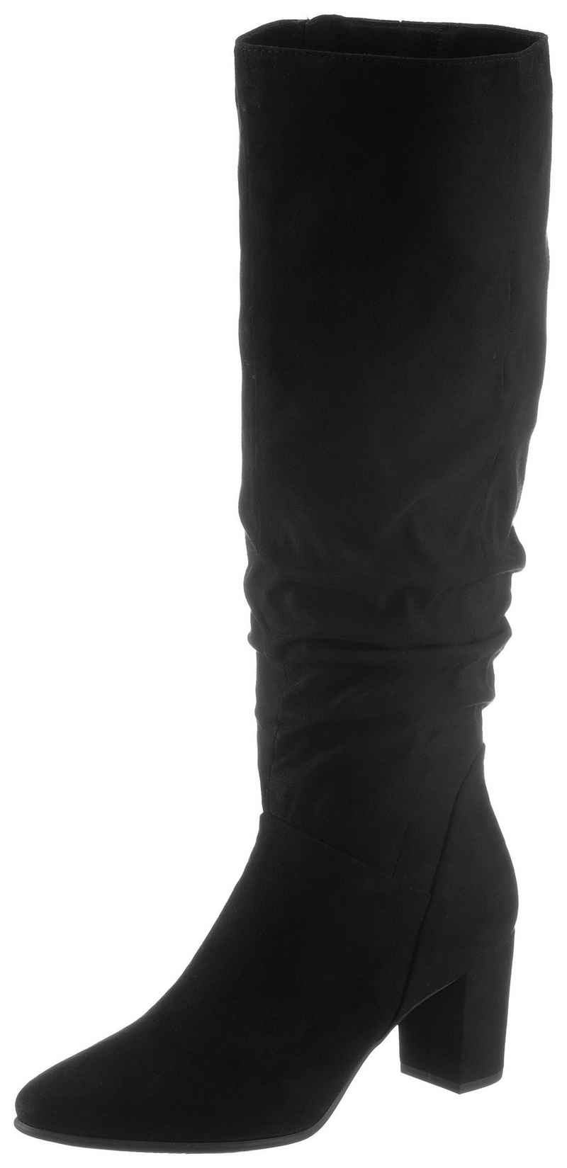 MARCO TOZZI Stiefel mit gerafftem Schaft