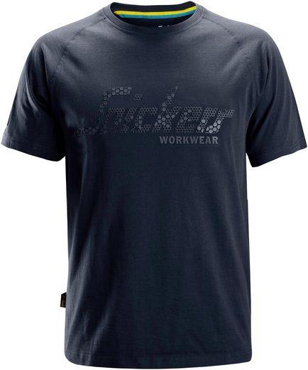 Snickers Workwear T-Shirt »Logo« weite Passform