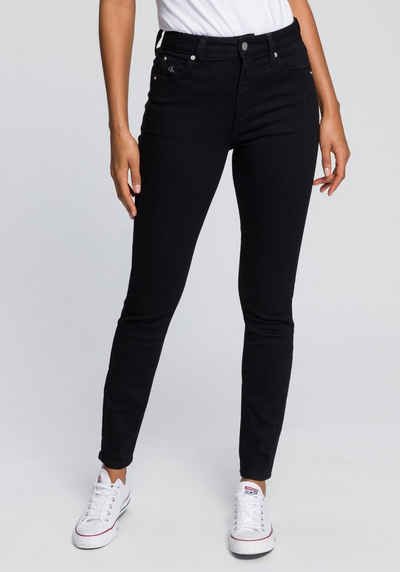 Calvin Klein Jeans Skinny-fit-Jeans »CKJ 010 HIGH RISE SKINNY« mit CK Monogramm Stickerei