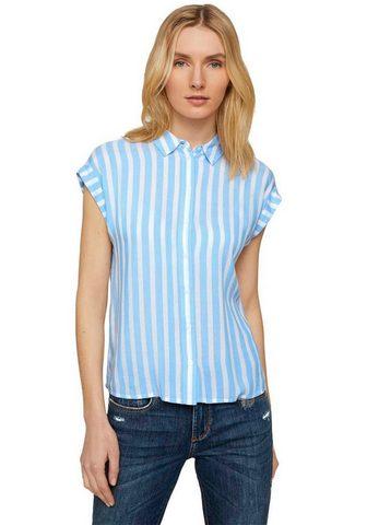 TOM TAILOR Marškiniai su Turn-Ups an den trumpom ...