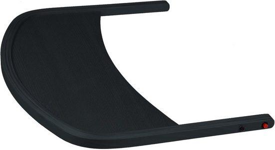 BabyGo Hochstuhltablett »Wooden table, black«, Holz