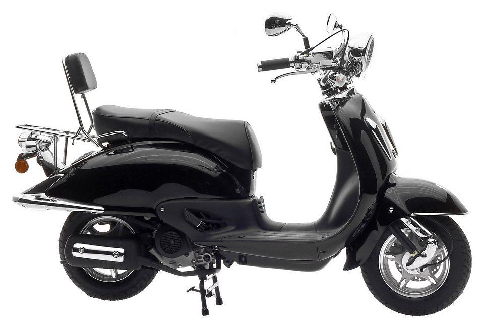 Motorroller, Nova Motors, »Milano«, 50 ccm 45 km/h, schwarz, »nur solange Vorrat reicht« in schwarz