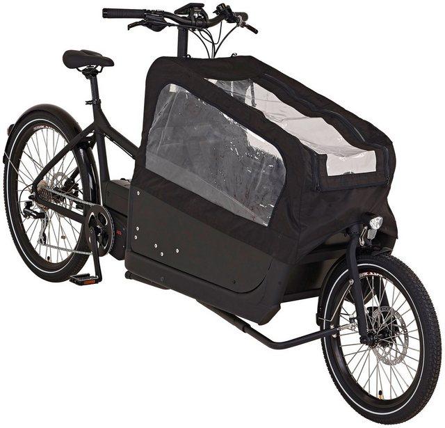 PROPHETE E-Bike Lastenrad »Cargo E-Bike 2.0«, 8 Gang, Mittelmotor, 250 W*