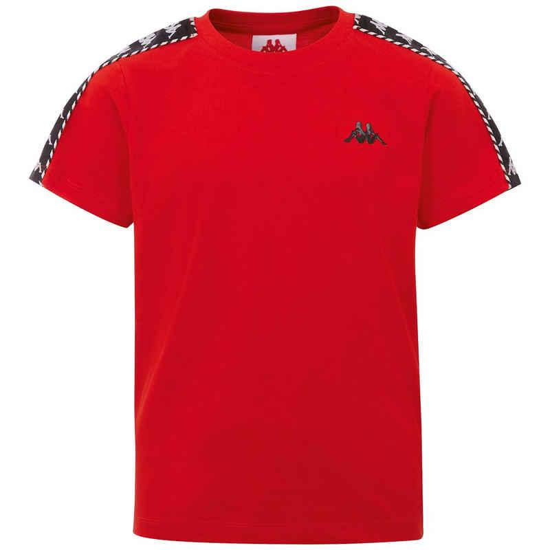 Kappa T-Shirt »ILYAS« mit hochwertigem Jacquard Logoband an den Ärmeln