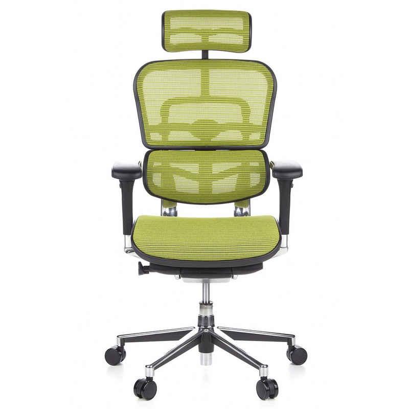 hjh OFFICE Chefsessel »Luxus Chefsessel ERGOHUMAN Netzstoff«