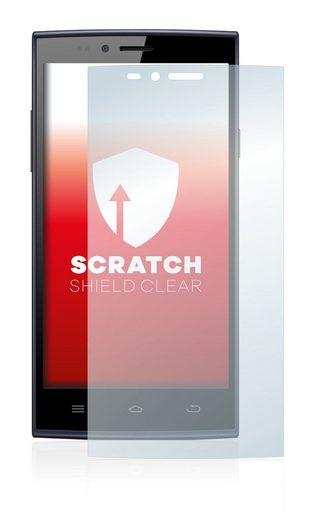 upscreen Schutzfolie »für THL T6C«, Folie Schutzfolie klar anti-scratch