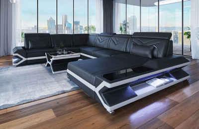 Sofa Dreams Sofa »Napoli«, U Form XXL