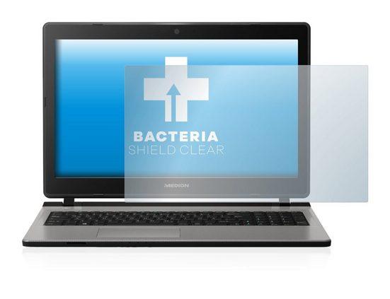 upscreen Schutzfolie »für Medion Akoya E6436 (MD 61100)«, Folie Schutzfolie klar antibakteriell