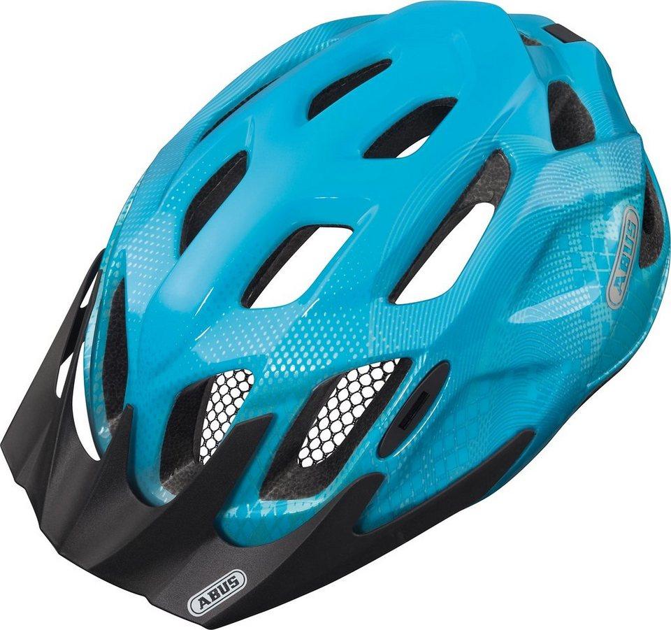 ABUS Fahrradhelm »Mountx Helm« in blau