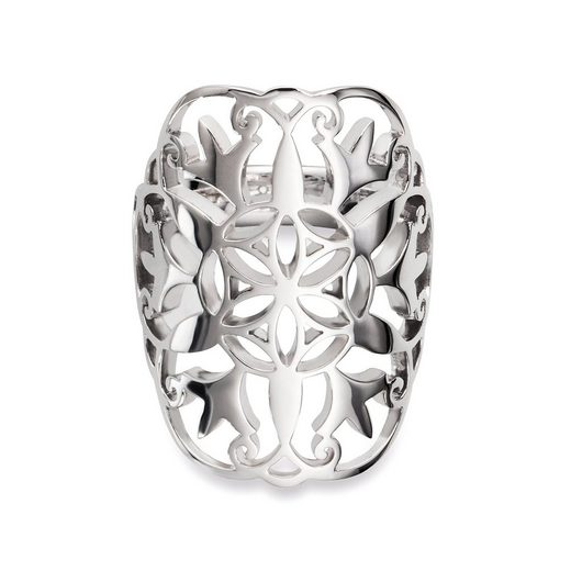 CAÏ Silberring »925/- Sterling Silber rhodiniert«