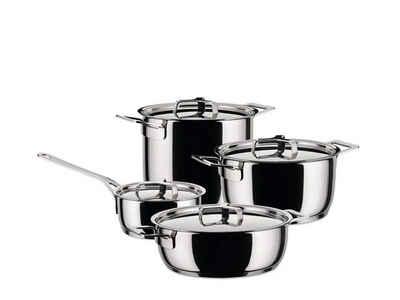 Alessi Topf-Set »Alessi Pots&Pans - Topf-Set 9-tlg. (AJM100S9)«, (9-tlg)