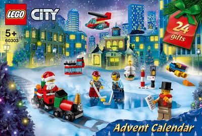 LEGO® Adventskalender »(60303), LEGO® City Occasions« (349-tlg)