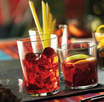 Bormioli Rocco Tumbler-Glas »Bodega«, Glas, Trinkglas Mini 220ml Glas transparent 12 Stück