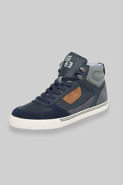 CAMP DAVID Sneaker mit innenliegenden Reißverschluss