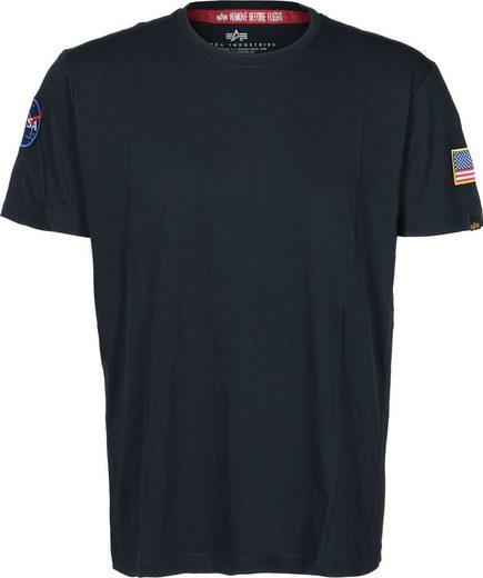 Alpha Industries T-Shirt »NASA«