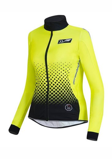 prolog cycling wear Fahrradjacke »Neon« mit Mesh-Einsätzen