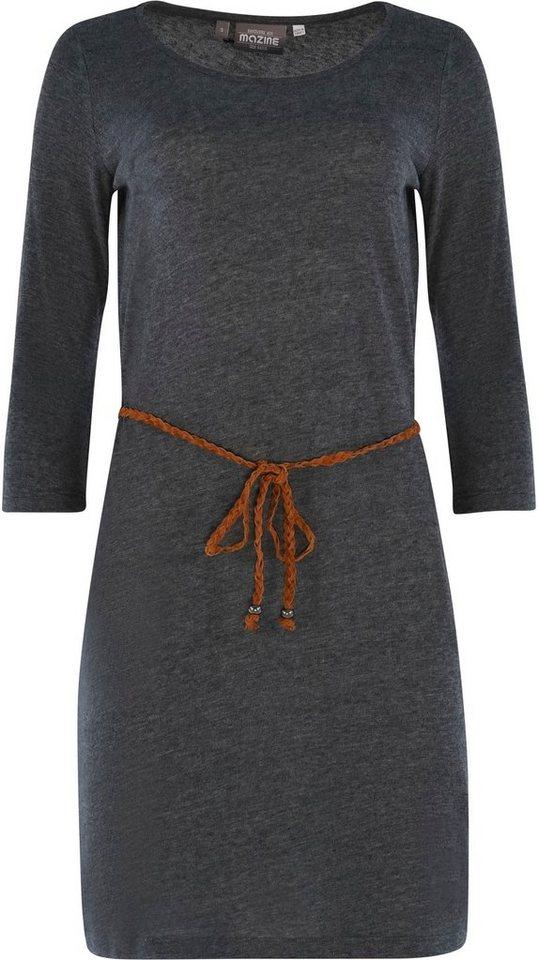mazine -  Jerseykleid »Lotte« mit kleinem Bindegürtel