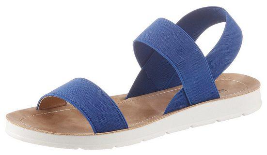 Betty Barclay Shoes Sandale mit Elastik-Riemchen