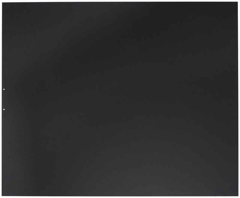 JUSTUS Bodenschutzplatte »B1«, 100x120 cm, schwarz, zum Funkenschutz