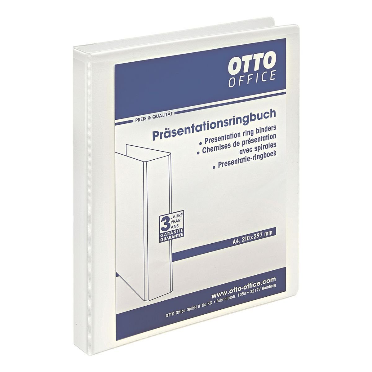OTTO Office Standard Präsentationsringbuch