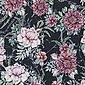 larissastoffe Stoff »Jersey Stoff Blumen Aquarell, Swafing schwarz«, Stoffe zum Nähen, Meterware, 50 cm x volle Breite, Bild 1