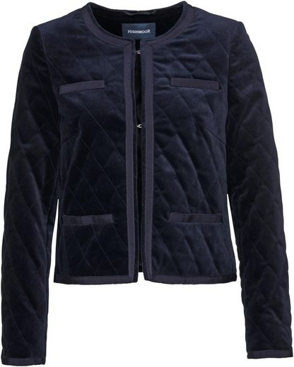 Highmoor Steppjacke »Highmoor Samt-Steppjacke«