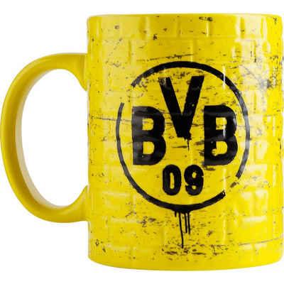 Borussia Dortmund Tasse »BVB-Tasse Gelbe Wand«