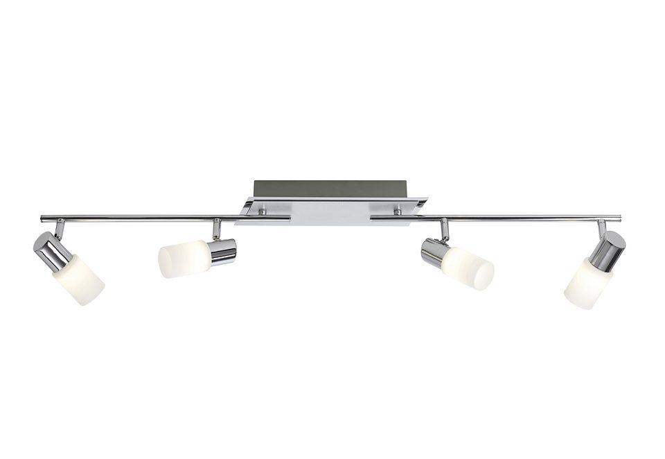 LED-Deckenlampe »NEW«, 4-flg., Trio in silberfarben